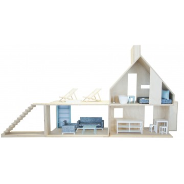 dollhouse Mini Wood