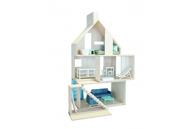 dollhouse Mini Wood