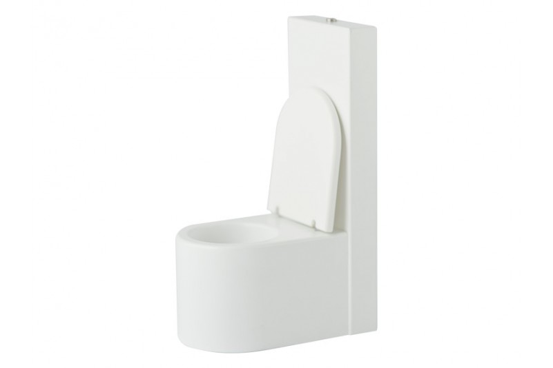 opening toilet
